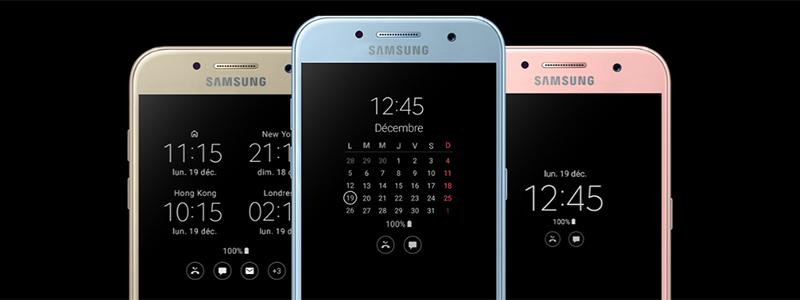 Obtenez 50€ de remboursement à l'achat d'un Samsung Galaxy A3.