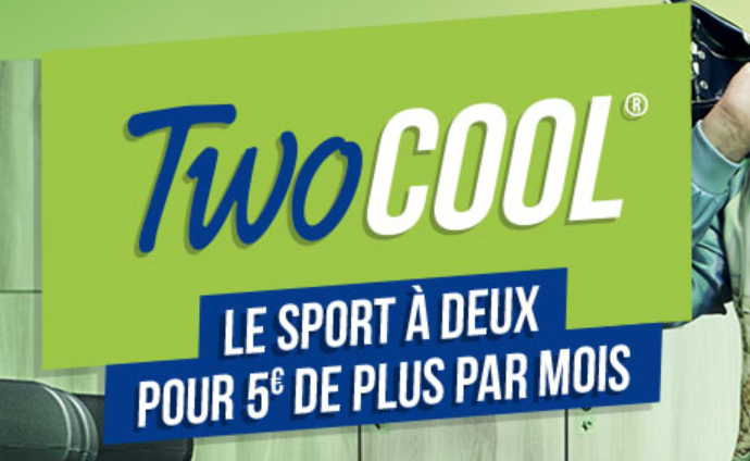Le club de sport Keep Cool propose la formule Two Cool pour 5 euros de plus par mois