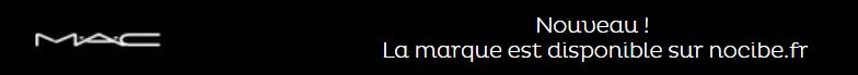 Mac est enfin disponible en vente chez nocibe.fr