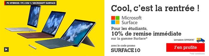 Darty casse les prix des Surface Book de Microsoft.