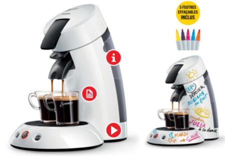 Darty offre une réduction de 20% sur les cafetières Senseo originales