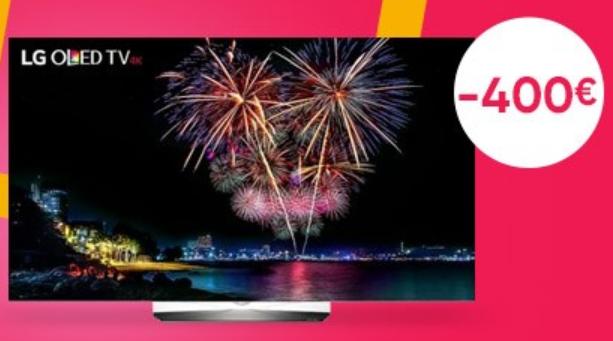 400 euros d'économie sur le téléviseur Oled de LG sur la Fnac