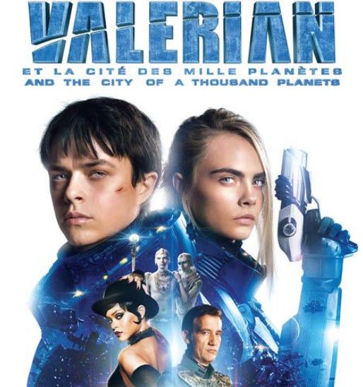 Valérian, un film disponible en Blu-ray à la Fnac.