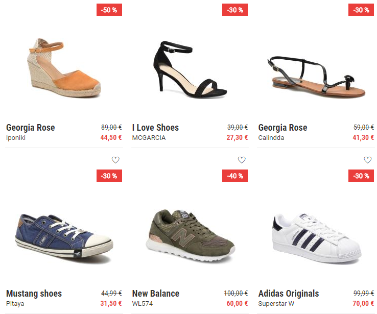 Sarenza soldes d'été chaussures