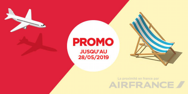 Promotion Air France vols à 40 euros
